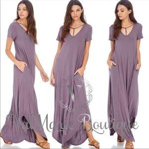 Tstrap Maxi Dress